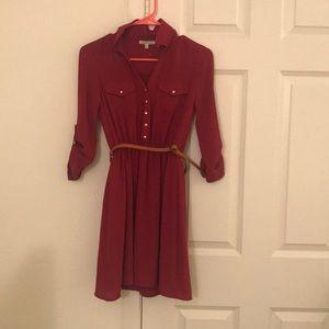 Maroon Charlotte Russe Dress